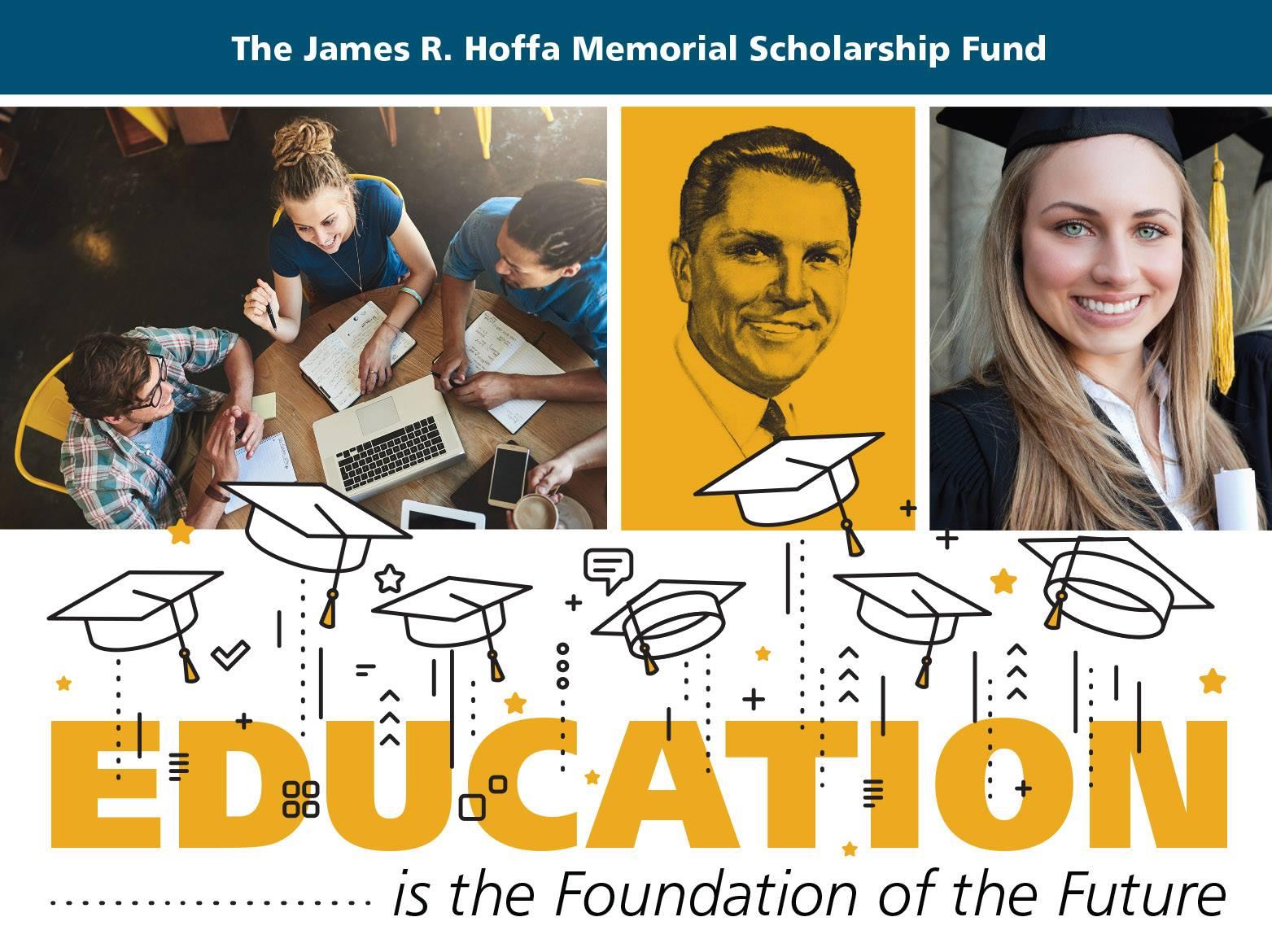 James R. Hoffa Scholarship: Register Today!