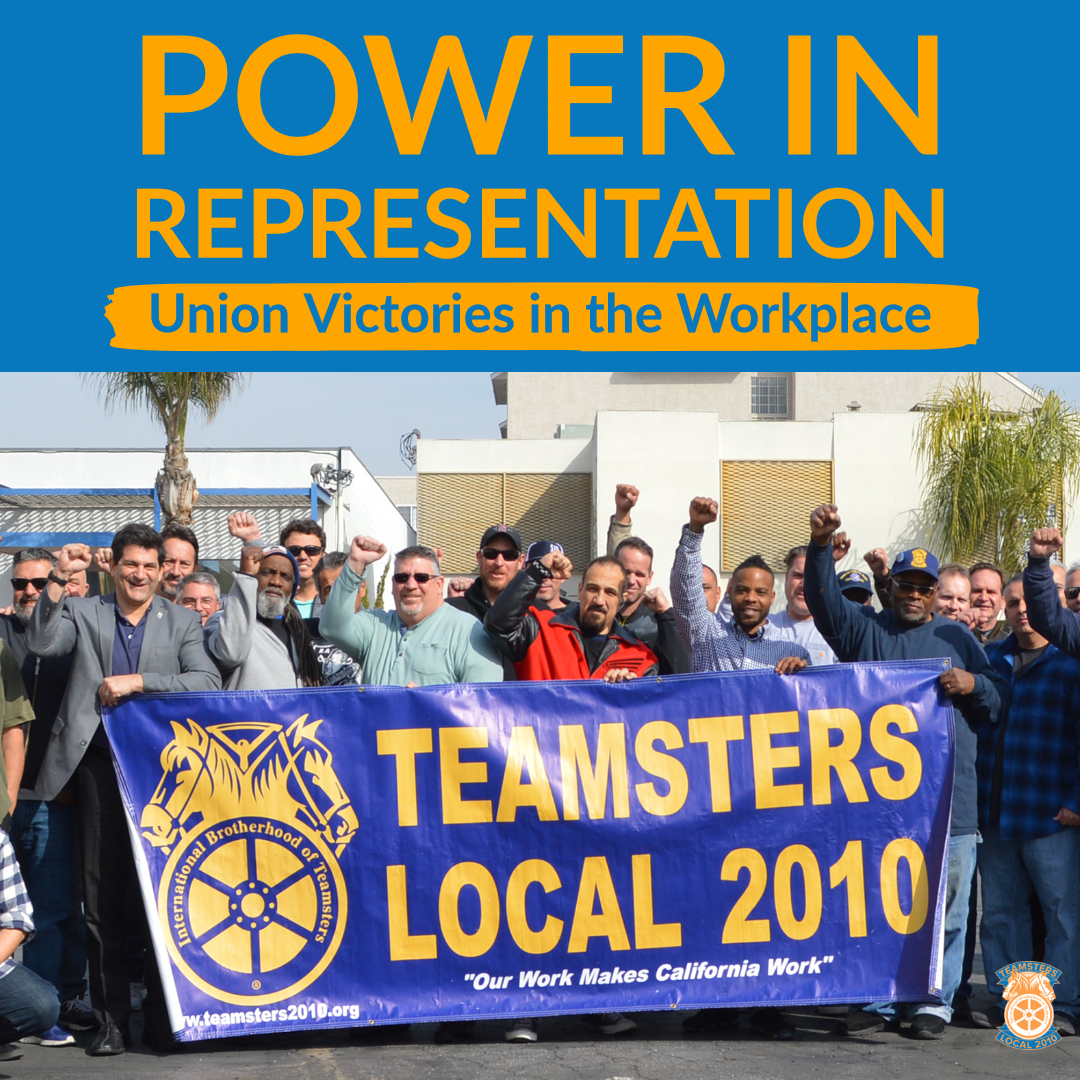 Power in Representation: Union Victories in the Workplace