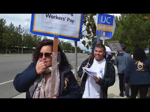 Jason Rabinowitz speaks against UC Pay violations